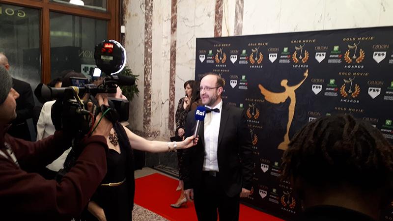 Fabio Teriaca Gold Movie Award 2